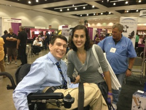 Mark Smith at Abilities Expo