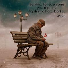 Kindness Quote -  Plato